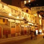 Kota Florence di Italia, malam hari
