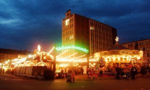 Pasar natal kota Duren