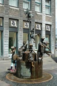 Puppenbrunnen, Aachen