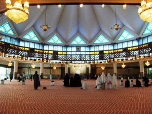 Interior Masjid Negara