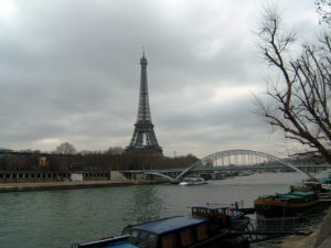 Sungai Seine dan Eiffel