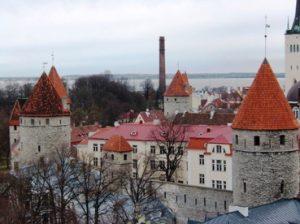 Kota tua di Estonia