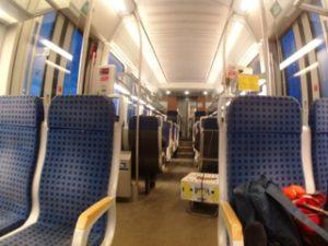 Naik kereta api di Bulgaria